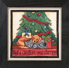 Not a Creature Was Stirring - 2015 Sticks Kits Everyday Design Beaded Cross Stitch Kit
