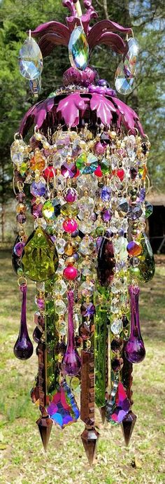 This is the fanciest wind chime I have ever seen!