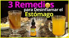 3 Remedios para Desinflamar el Estómago, Acabar con la Grasa Abdominal y...