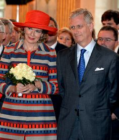 Queen Mathilde, Nov. 6, 2013 | The Royal Hats Blog