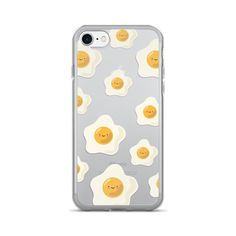 Sunny Side Up Egg Pattern TPU iPhone Case - iPhone 7