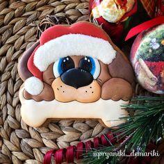 dog decorated christmas cookie      Время неумолимо бежит, и не за горами уже Новый год! Год Собаки! Я думаю в этом году разновидностей пряничных собак будет очень много!!! Ну а я готовлю новогодний МК! И уже совсем скоро будет презентация базового курса! #имбирноепеченьеназаказ #имбирныйпряниккраснодар #имбирныепряникиназаказ #мк_pryaniki_demariki #мкпоросписипряников #мккраснодар #новыйгод2018 #годсобаки2018
