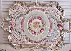 Image result for shabby chic mosaics