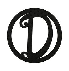 Winston Porter Pin-on Felt Monogram Wall Décor Letter: D