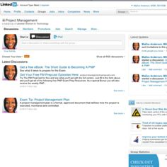 Creator of LinkedIn Subgroup Project Management to facilitate discussion, advise, share information, etc on project management and related topics.