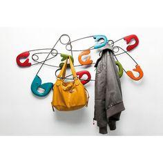 Safety Clip - hanger by Kare design Kare Design, Deco Design, Home Living, Home Accessories, Pop Art, Modern Design, Safety, Design Inspiration, Outdoor Decor