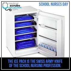 Happy School Nurses Day! Happy Nurses Week, Nurses Day, Nursing Profession, Medical School, Med School