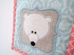 Sew Sweet Violet ..... new baby bear pocket