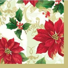 Poinsettia Parade Dinner Napkins 16 Per Pack by Creative Converting. $3.39. Design is stylish and innovative. Satisfaction Ensured.. Manufactured to the Highest Quality Available.. Creative Converting is a leading manufacturer and distributor of disposable tableware including high-fashion paper napkins plates cups and tablecovers in a variety of solid colors and designs appropriate for virtually any event
