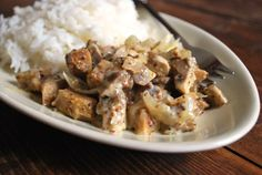 seitanchampignons Seitan, Tempeh, Tofu, Veggie Recipes, Asian Recipes, Whole Food Recipes, Ethnic Recipes, Vegetarian Day, Vegetarian Recipes