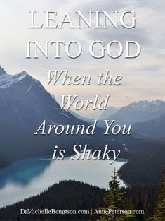 We may be surprised when we face trials, but God is not. He even told us to expect to hard times. But, how do we overcome? Learning to lean into God when the world around us is shaky is key. Read more here for biblical insights in learning to trust God. #faith #God #trustingGod Anxiety Causes, Anxiety Remedies, Bible Verses About Fear, Facing The Giants, Romans 15 13, Dealing With Grief, I Do Love You, Stages Of Grief, Grief Support