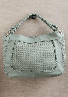 Danica Woven Bag In Seafoam at #Ruche @shopruche