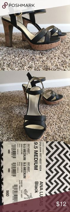 Brand New Ana Lucas Black Heels from J C Penny's! These are brand new from J C Penny's. Never worn before! Paid $60. Make me an offer!! ana by JC Pennys  Shoes Heels