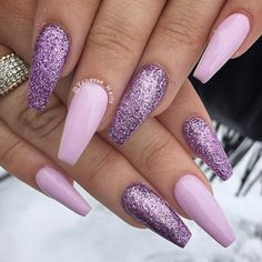 The Beauty Of The Lilac Color In The Real Life ★ See more: http://glaminati.com/lilac-color-real-life/ #nailart #nails #naildesigns #lilac #lilaccolor