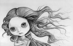 Blythe Venus (detail) -by Thomas DePorter (Friend2Blythe)
