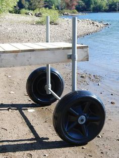 Taylor Made Products Dock Roller Wheel-Rigid-24""