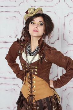 Nice steampunk outfit