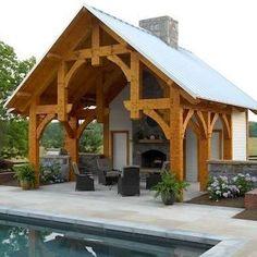 Timber Frame Pavilion