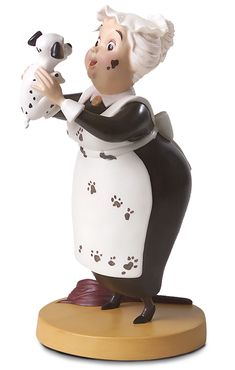 101 Dalmatians-Nanny Cook & Lucky (Limited to Production Year 2007)
