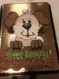 Pull Apart Cupcake Cake, Pull Apart Cake, Cupcake Cakes, 22nd Birthday Cakes, Puppy Birthday Cakes, Puppy Cupcakes, Animal Cupcakes, Cola Cake, Cake Shapes