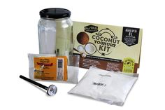 MAD MILLIE COCONUT YOGHURT KIT Yogurt Live Cultures ORIGINAL AND CHOCOLATE