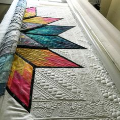 Amazing quilting by Kathleen Quilts!