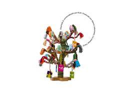 Árbol de la Vida [Algarrobo Chancay] KUX. La cultura Chancay [costa norte de Lima] muestra un tema recurrente: la presentación de un árbol hecho de cañas, con hilos de colores y cuyas ramas se hallan llenas de aves. Este árbol de la vida, que nosotros hemos identificado como el algarrobo, se relacionaba con los tiempos de abundancia. Diseño deco-utilitario: puede ser utilizado como árbol genealógico 3D [ganchos porta-imágenes].