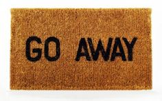 Kempf Go Away Doormat, 16 by 27 by 1-Inch by Kempf, http://www.amazon.com/dp/B000I1UYXO/ref=cm_sw_r_pi_dp_A5SPrb0AP1RHK