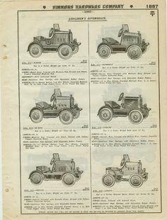 Catalog Page Ad Keen Kutter Children's Toy Pedal Cars Dusenburg Racer Star 1930 | eBay