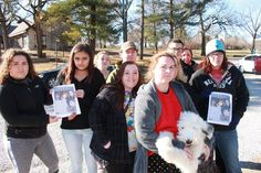 Around 20 volunteers gathered in the parking lot of the Nebraska City Aquatic Center on Thursday morning, Dec. 29, to begin distributing posters seeking