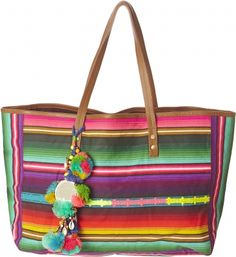 Pepita Stripe Bag -