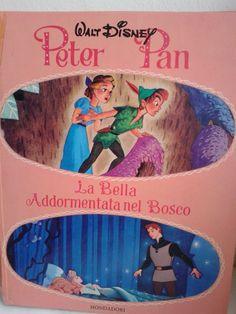 Peter Pan la bella addormentata nel bosco Walt Disney
