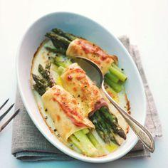 Überbackene Spargelcannelloni Rezept   Küchengötter