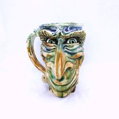 Sly Face Mug – Fusion Art Glass Online Store