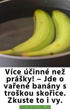 – Jde o vařené banány s troškou skořice. Zkuste to i vy. Fruit, Health, Fitness, Food, Diet, Health Care, Essen, Meals, Yemek
