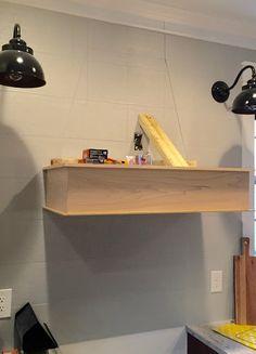 A DIY(ish) Wood Vent Hood | Thrifty Decor Chick Range Hood Vent, Range Hoods, Wooden Vent Hood, Best Kitchen Layout, Kitchen Ideas, Kitchen Inspiration, Kitchen Vent Hood, Kitchen Stove, Kitchens
