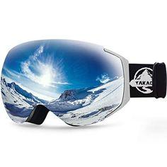 eef308672 YAKAON Y Series Ski Goggles Snowboard Frameless Spherical UV Protection  Anti-fog Lens for Men Women Review