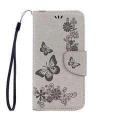 Yrisen Samsung Galaxy S6 Edge Tasche Hülle Wallet Case Sc…