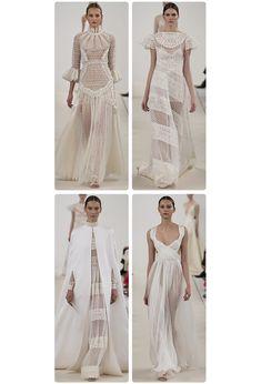 Valentino célèbre le blanc http://www.vogue.fr/mariage/tendances/diaporama/le-defile-haute-couture-945-sala-bianca-de-valentino-a-new-york-mariage-robes-de-mariee/21593