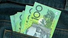 Money, savings, Australian dollar, $100, pocket, wallet, cash, $A