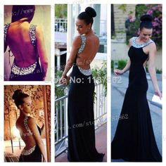 Find More Evening Dresses Information about ED 0946 Sheath Black Evening Dress for Party Long Formal Sexy Backless Evening Gown Open Back Evening Dresses 2014 Bandage,High Quality Evening Dresses from White Snow on Aliexpress.com