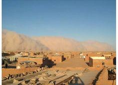 Dust storm Sahrawi