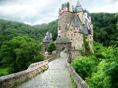 Burg Eltz is a medieval Baroque style castle was constructed somewhere before the year 1157 in Germany.