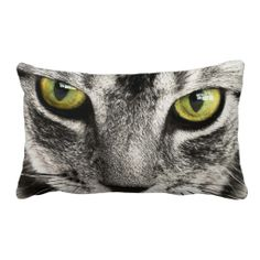 Cat Look Throw Pillow
