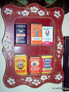 vintage spice tins - Google Search