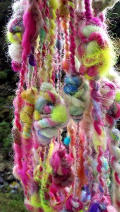 Art Yarn Granny Stacks