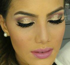 Maquiagem GLAM Romantica por Camila Coelho-minha preferida