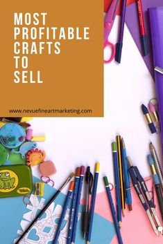 Most Profitable Crafts To Sell - Are you trying to figure out what crafts are th. - Most Profitable Crafts To Sell – Are you trying to figure out what crafts are th…, - Crafts To Sell, Crafts For Kids, Diy Crafts, Craft Business, Business Tips, Etsy Business, Diy Jewelry To Sell, Craft Show Ideas, Selling Art Online
