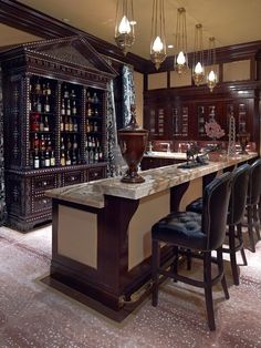 Attractive 50 Stunning Home Bar Designs