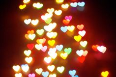 Create your own heart shaped Bokeh I love this just paper and a Heart Bokeh, Heart Background, Abstract Pictures, Tumblr Image, Peace On Earth, Festival Lights, Care Plans, Love Signs, Heart Art